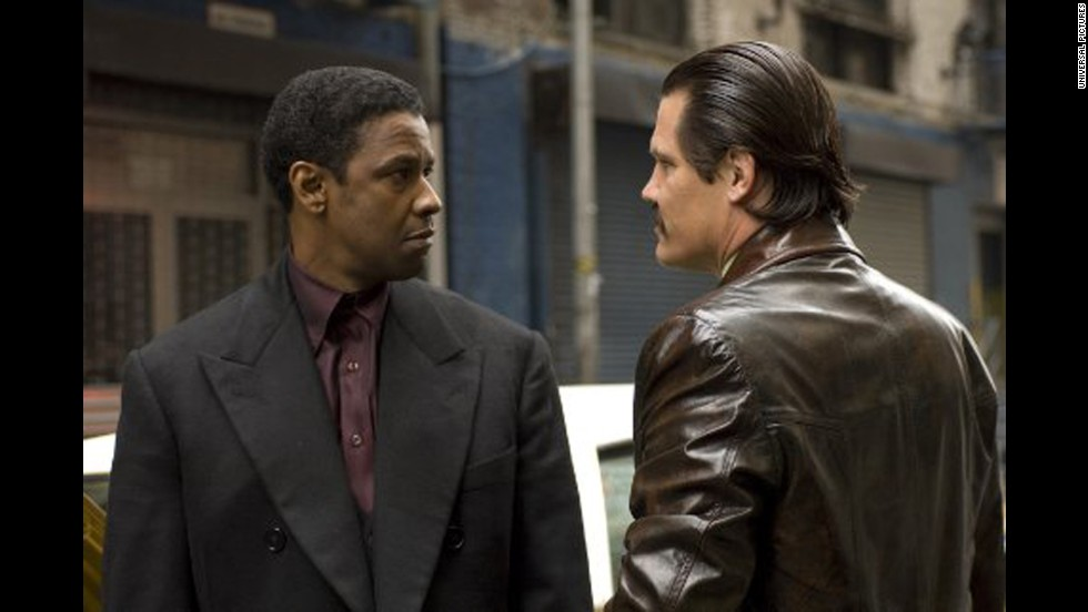 "<strong>""American Gangster"" (2007)</strong>: After getting audiences used to seeing him as a villain, Washington went all out with the role of driver-turned-drug kingpin Frank Lucas in this Ridley Scott-helmed drama."