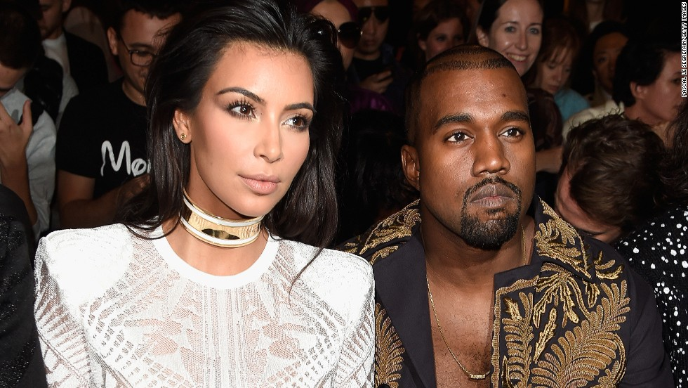 Meanwhile, Kanye West and Kim Kardashian showed their support (and personal style) from the front row.