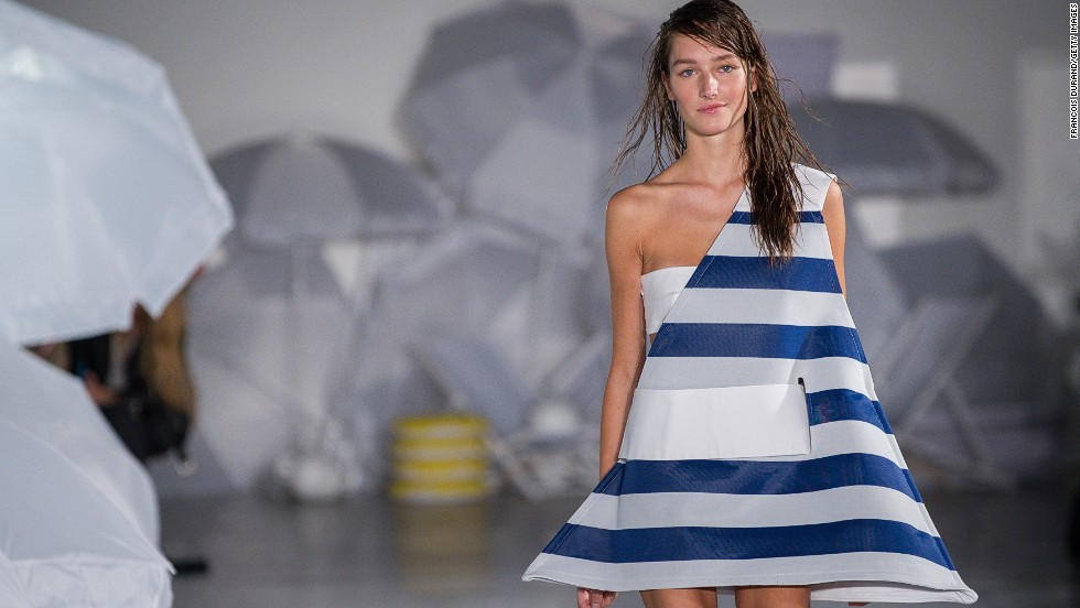 Simon Porte Jacquemus' cheeky beach-inspired collection was almost enough to make you forget that summer is still nine months away.
