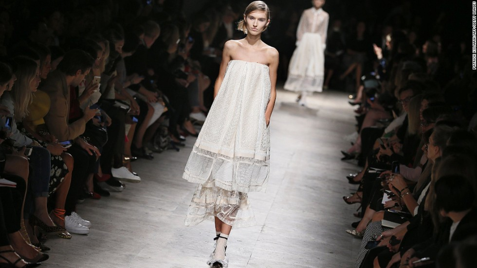 Alessandro Dell'Acqua served light and sweet confections at Rochas.