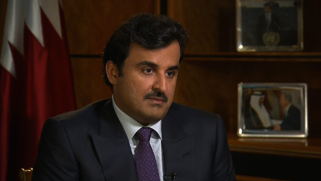 Qatar Emir on foreign policy, World Cup