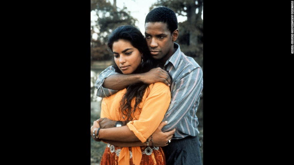 "<strong>""Mississippi Masala"" (1991)</strong>: Surely films like this 1991 love story of an interracial relationship helped Washington land the 1996 title of ""Sexiest Man Alive"" from People magazine. Sarita Choudhury co-stars in this story about an Indian woman and an African-American man falling for one another in spite of racial prejudices."