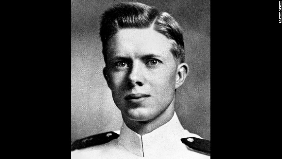 Carter graduated from the US Naval Academy on June 5, 1946, after completing the accelerated wartime program.