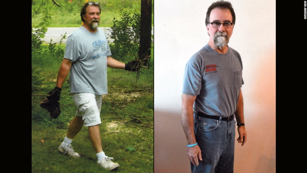Matthew Matter from Buffalo, Minnesota, dropped 54 pounds.