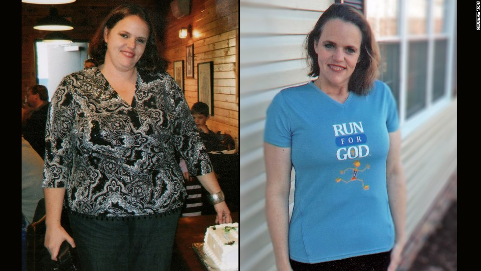 Kiesi Morgan from Princeton, West Virginia, used running to help lose 92 pounds.