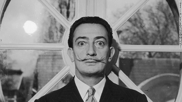 Salvador Dali negotiated fame and controversy throughout his prolific career.