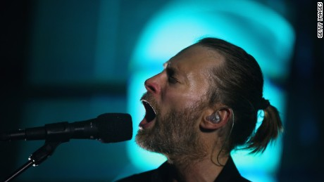 Singer Thom Yorke and his band Radiohead have fans buzzing about a possible new album release.