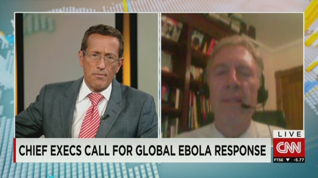 CEOs demand stronger response to Ebola