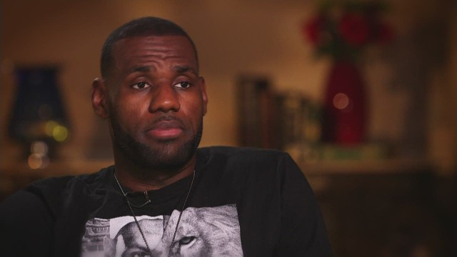 LeBron James: Speaking Out & Opening Up