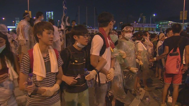 Pro-democracy protests in Hong Kong