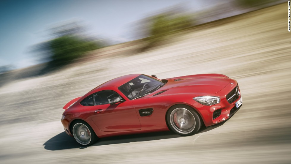"Mercedes-Benz is releasing its new AMG GT, saying this car ""carries the heritage of Mercedes racing cars forward."""