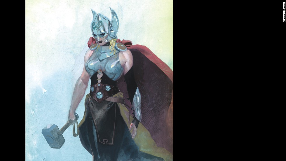 "The first look at the new Thor was<a href=""http://www.cnn.com/2014/07/17/showbiz/celebrity-news-gossip/new-thor-woman/""> revealed on ""The View,"" </a>and quickly became a media sensation and a hot topic on social media."