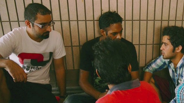 Refugee fights for rights in Hong Kong