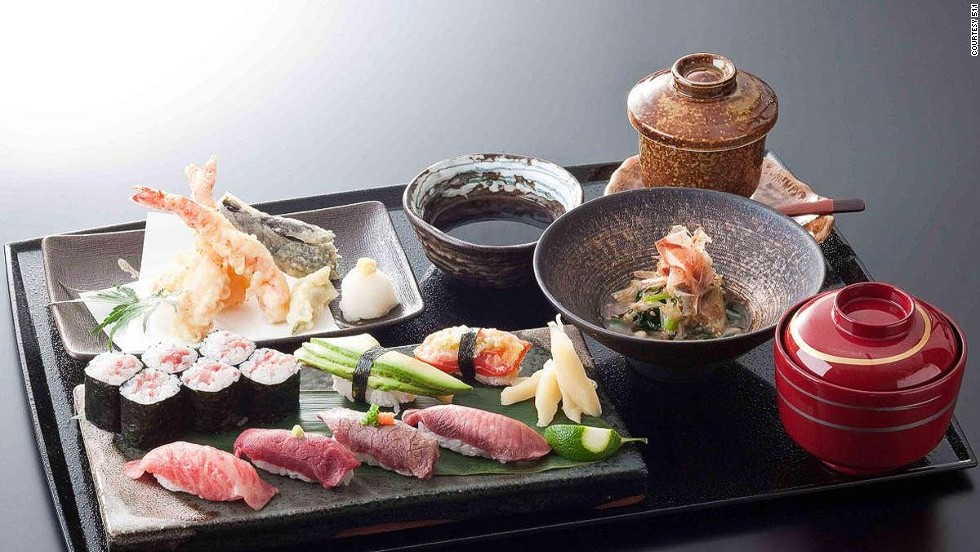 "Beef tartar, or ""nigiri Wagyu sushi,"" is a relatively rare preparation in Japan."