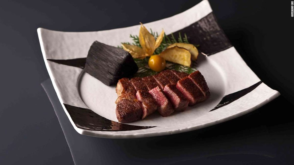 Marbling brings out a fifth primary taste, umami, a Japanese term that describes a subtle sweetness and aroma.