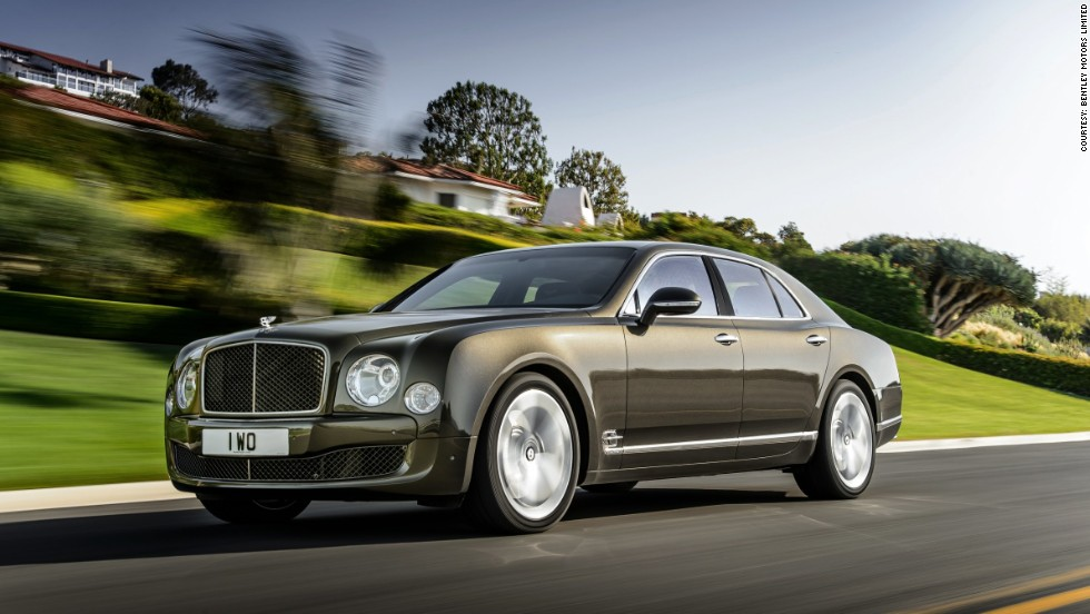 "Bentley is unveiling its new Mulsanne Speed, which is marketed as the ""world's fastest ultra-luxury driving experience."""