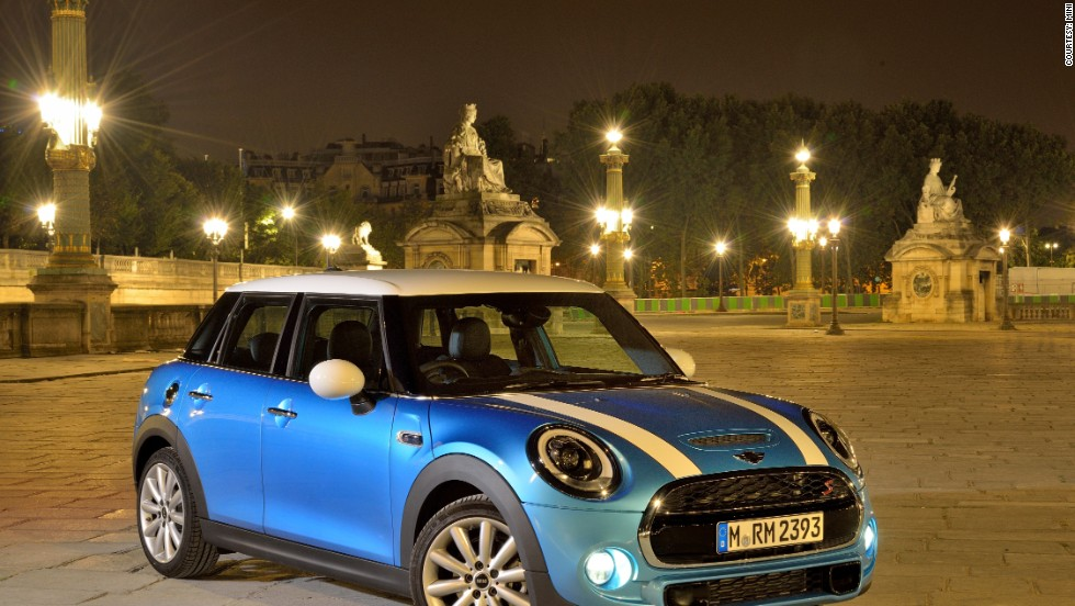 MINI is revealing the first 5-door hatchback in the brand's history.