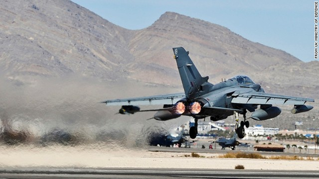 30 September 2014 — News story RAF conducts first air strikes of Iraq mission Royal Air Force Tornado GR4 aircraft have been in action over Iraq today in the fight against ISIL.