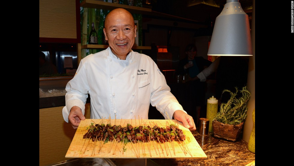 Chef Masayoshi Takayama of Masa nabbed three stars for the New York City outpost of his restaurant, which is America's most expensive sushi restaurant.