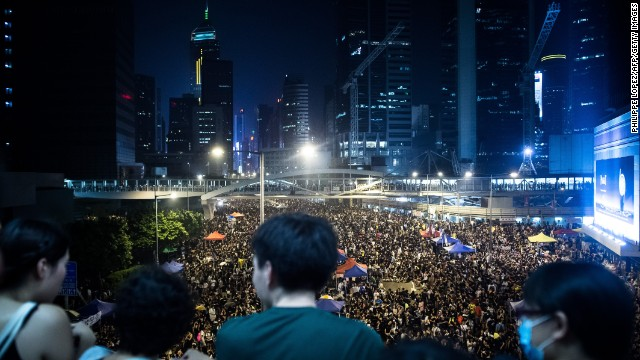 What Hong Kong protests say about Beijing