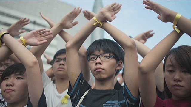 Lawmaker: Hong Kong protests 'unlawful'