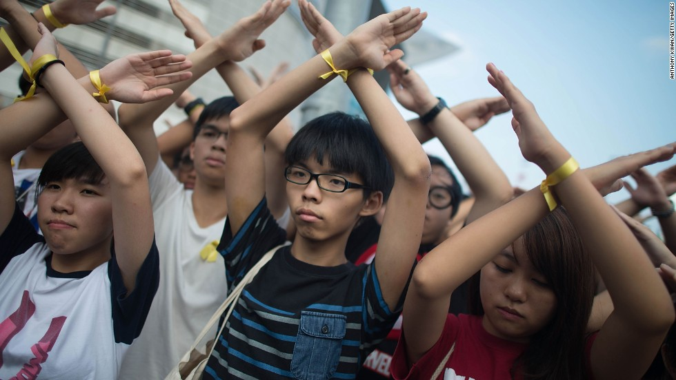 Hong Kong teen activists vow to return to the streets - CNN.com