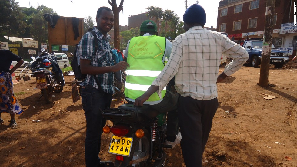 Nairobi-based CladLight Limited has created a smart jacket that increases the visibility of riders in order to help combat the high number of road accidents.