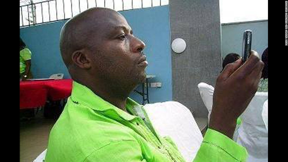 "<a href=""http://www.cnn.com/2014/10/01/health/us-ebola-patient/"">Thomas Eric Duncan</a> is a Liberian resident who flew to Dallas to visit family and friends. He was the first Ebola patient diagnosed in the United States. He passed away on October 8."