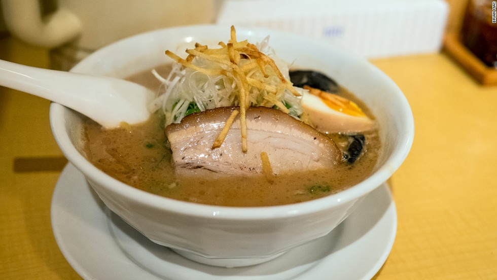 A soy sauce byproduct, miso has risen to be a star in its own right. Hokkaido ramen is famous for its miso soup base.