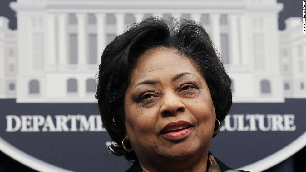 "Shirley Sherrod, a former official with the Department of Agriculture, was forced to resign from her position in 2010 after a conservative blogger published a video of her questioning whether to help a white man losing his farm since "" so many black people lost their farm land"" before him. When it was discovered that the video was taken out of context, the USDA offered her another job, which she declined."
