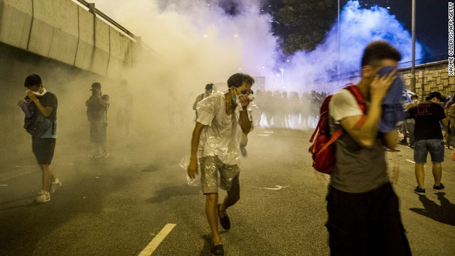 What do Hong Kong protesters want?