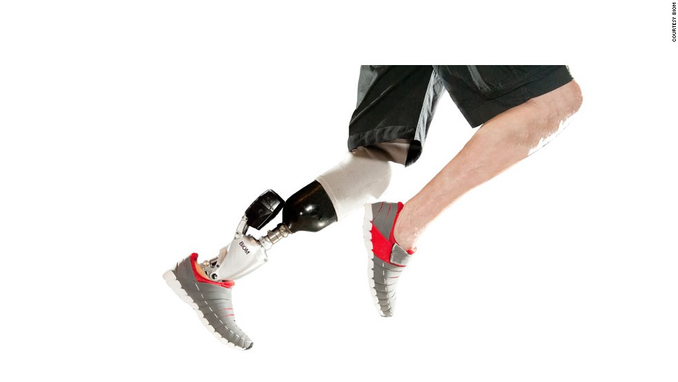 Run like a cheetah, jump like a flea, and hit every target every time. A new generation of prosthetics are promising to transform sporting competition.