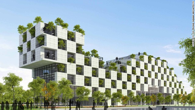Winner: Future Projects Education (FPT Technology Building, Vietnam, Vo Trong Nghia Architects)