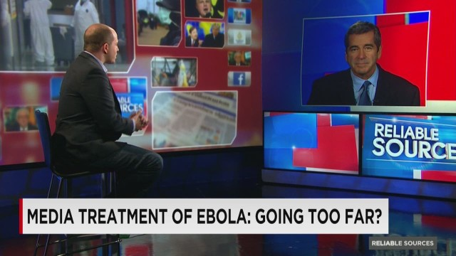 Media treatment of Ebola going too far?