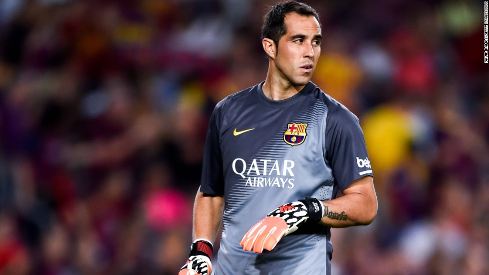 Barcelona goalkeeper Claudio Bravo signed for Manchester City on August 25, joining former manager Pep Guardiola for a reported fee of £15.3 million ($20 million).