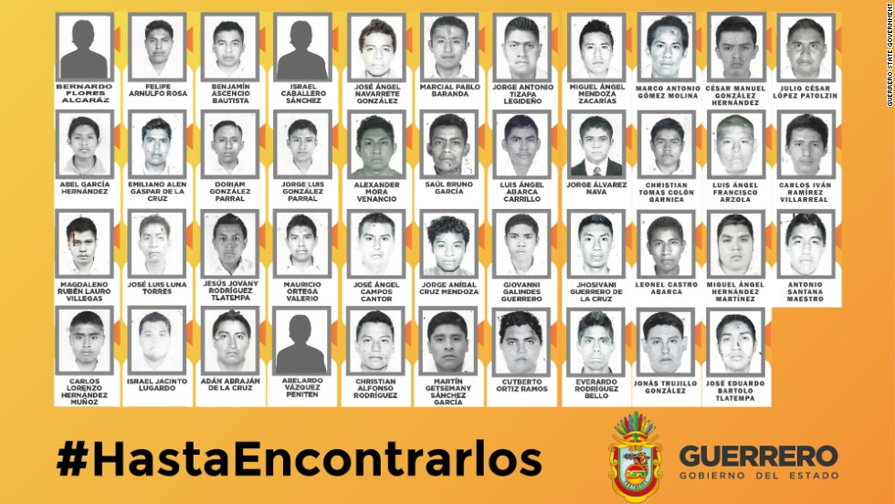 Mexico officially declares missing students murdered