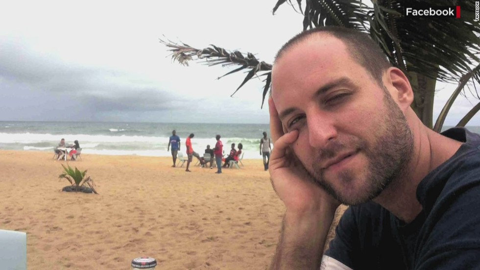 """American <a href=""""http://www.cnn.com/2014/10/03/health/ebola-nbc-ashoka-mukpo/"""">Ashoka Mukpo</a> is a freelance cameraman who was working for NBC News in Liberia when he became ill with Ebola symptoms. He was flown to The Nebraska Medical Center on October 6."""