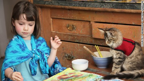 The extraordinary art of autistic 'five-year-old Monet'