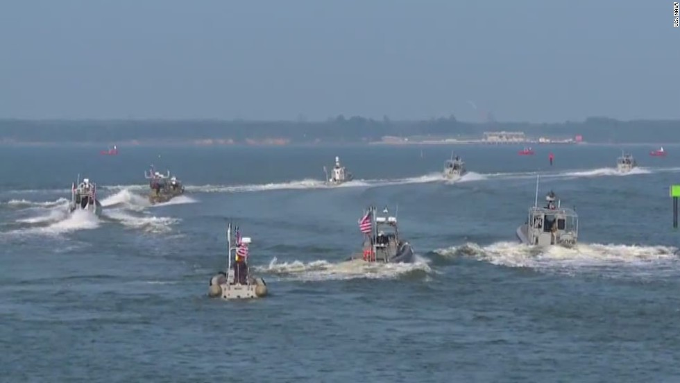 Unmanned boats could destroy threats