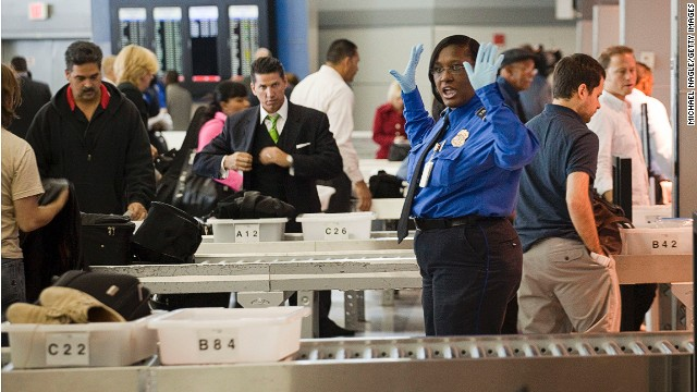 Most of us know the airport security drill by now. But there will always be one guy who looks surprised when asked by security staff to move the $50 in coins he's got stashed in his pockets.