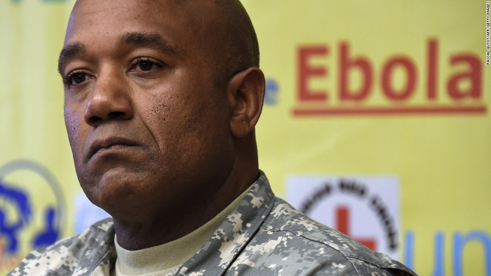 "Maj. Gen. Darryl Williams is commander of the U.S. military's <a href=""http://www.cnn.com/2014/09/16/health/obama-ebola/"">Operation United Assistance</a> in West Africa. The U.S. will be sending around 3,600 troops to the region to help fight the Ebola outbreak."