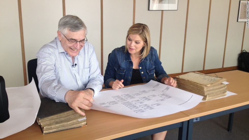 Bolduan traveled to Liege, Belgium, where local historian Alain van Wayenberge showed her a family tree dating back centuries.