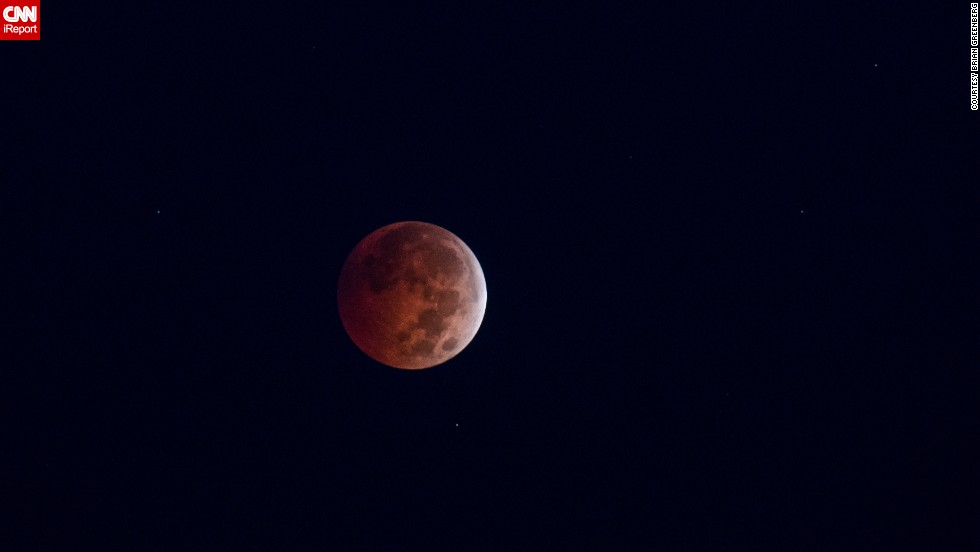 "<a href=""http://ireport.cnn.com/docs/DOC-1177249"">Brian Greenberg</a> enjoys doing astrophotography and captured the blood moon in Victor, New York."