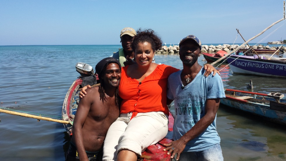 """Loved being out on the water with my new friends Buta, Christian and Devon!"" Pereira said."