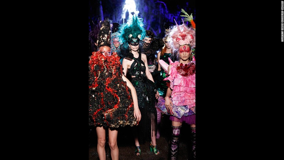 Rohde collaborated with Sydney fashion house Romance Was Born to produce Renaissance Dinosaur, a collection with futuristic and Jurassic themes.