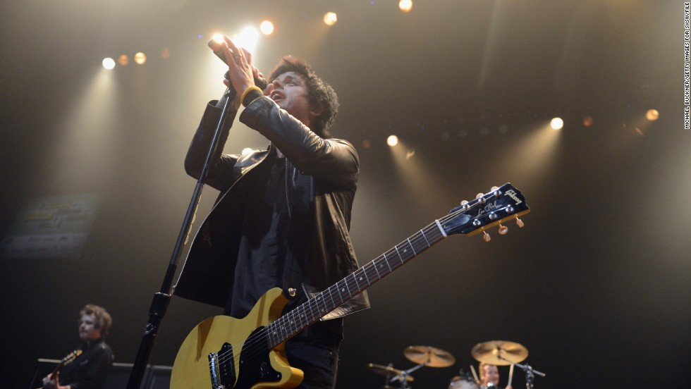 Green Day's Billie Joe Armstrong offered his band's version of what happened at the music festival.