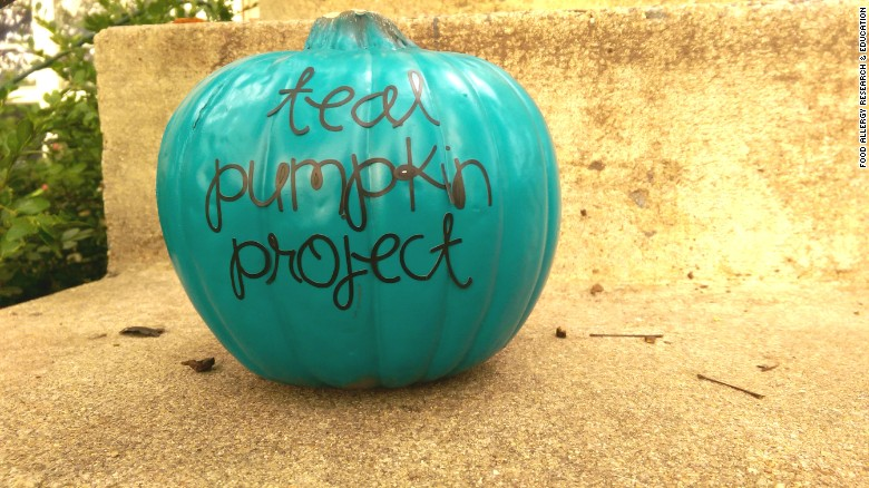 Teal pumpkins for kids with allergies?