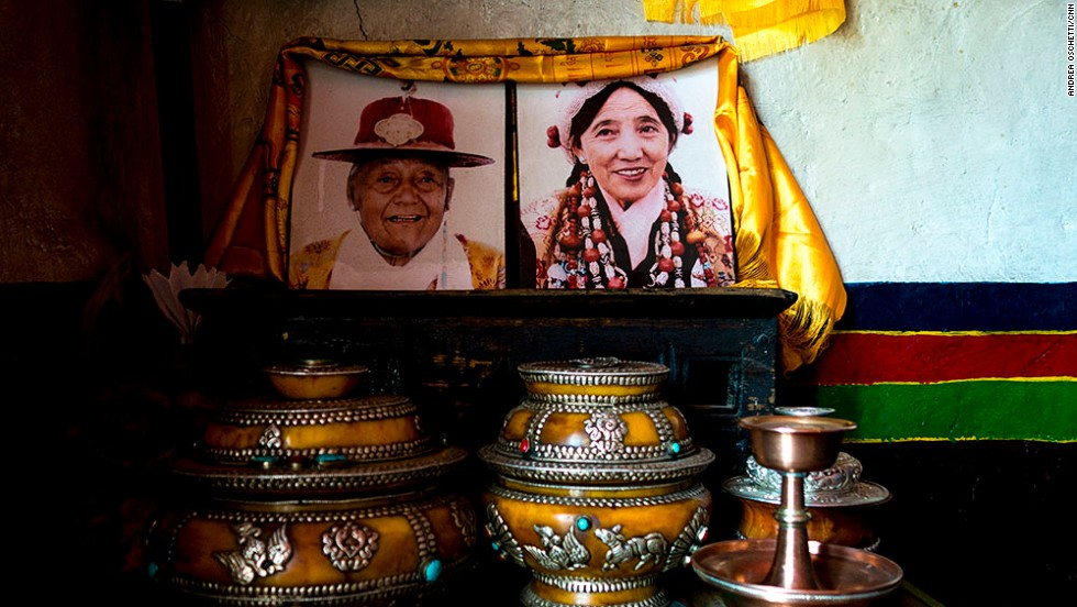 Nepal abolished the Mustang monarchy's official status in 2008. But Prince Jigme Palbar Bista is still considered the center of life in Mustang. Most homes display his portrait and when people have a dispute, they come to him.