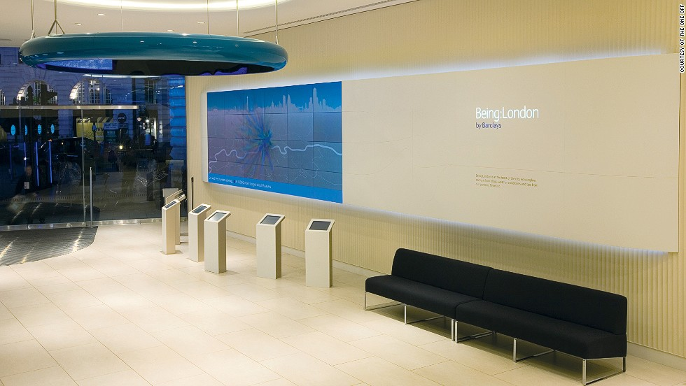 Barclays flagship branch in Piccadilly, London covers 8,000 square feet and is spread across three floors. With interactivity as its focus, the bank has designated a large area to self-service banking.