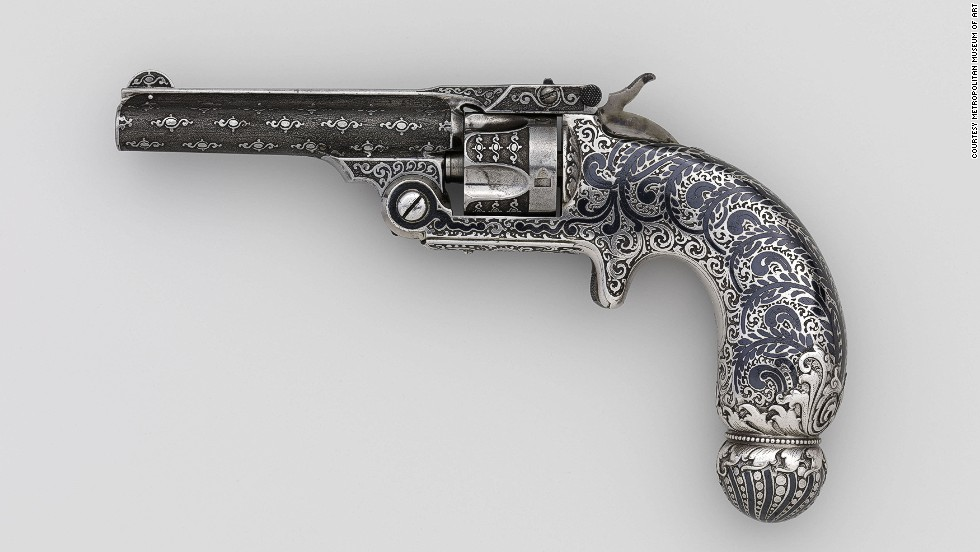 These beautiful guns were fully functional, but were never intended to be fired.